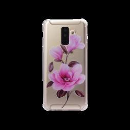 Samsung Galaxy A6+ (2018) - Gumiran ovitek (TPUP) - Blossom