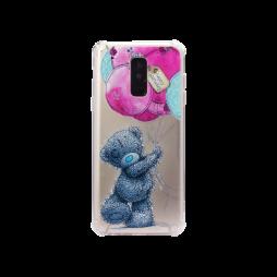 Samsung Galaxy A6+ (2018) - Gumiran ovitek (TPUP) - Bear