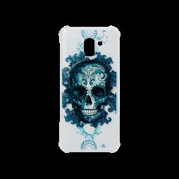 Samsung Galaxy J6 (2018) - Gumiran ovitek (TPUP) - Skull