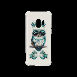 Samsung Galaxy S9 - Gumiran ovitek (TPUP) - Sleepy owl