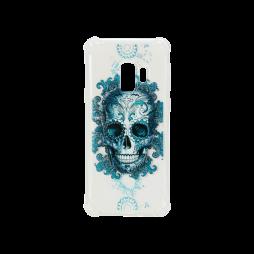 Samsung Galaxy S9 - Gumiran ovitek (TPUP) - Skull