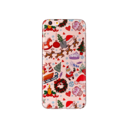 Apple iPhone 6/6s - Gumiran ovitek (TPUP) - Christmas