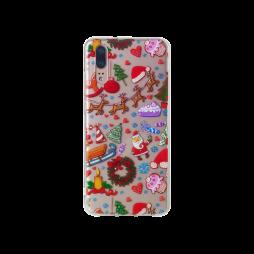 Huawei P20 - Gumiran ovitek (TPUP) - Christmas