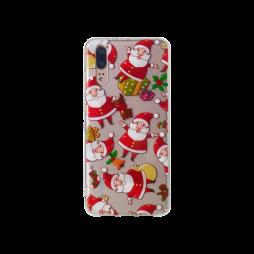 Huawei P20 - Gumiran ovitek (TPUP) - Santa