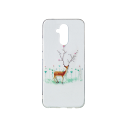 Huawei Mate 20 Lite - Gumiran ovitek (TPUP) - Deer