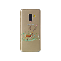 Samsung Galaxy A8 (2018) - Gumiran ovitek (TPUP) - Deer