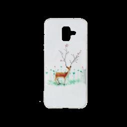 Samsung Galaxy A6 (2018) - Gumiran ovitek (TPUP) - Deer