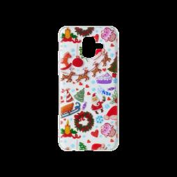 Samsung Galaxy A6 (2018) - Gumiran ovitek (TPUP) - Christmas