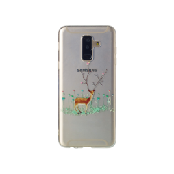 Samsung Galaxy A6+ (2018) - Gumiran ovitek (TPUP) - Deer