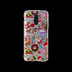 Samsung Galaxy A6+ (2018) - Gumiran ovitek (TPUP) - Christmas
