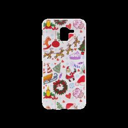 Samsung Galaxy J6 (2018) - Gumiran ovitek (TPUP) - Christmas