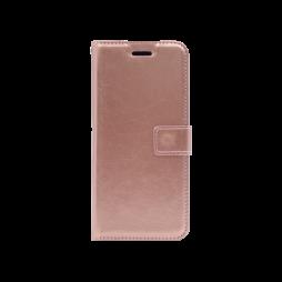 Huawei Mate 20 Pro - Preklopna torbica (WLC) - roza-zlata