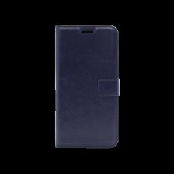 Samsung Galaxy J4+ (2018) - Preklopna torbica (WLC) - temno modra