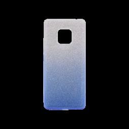 Huawei Mate 20 Pro - Gumiran ovitek (TPUB) - modra