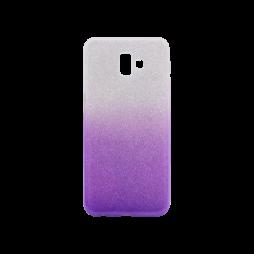Samsung Galaxy J6+ (2018) - Gumiran ovitek (TPUB) - vijolična