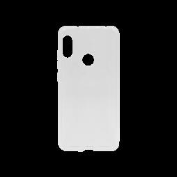 Xiaomi Mi A2 Lite - Gumiran ovitek (TPU) - belo-prosojen svetleč