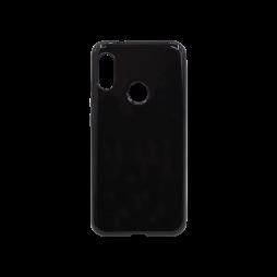 Xiaomi Mi A2 Lite - Gumiran ovitek (TPU) - črn svetleč