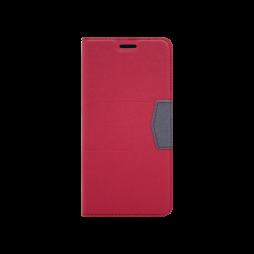 Samsung Galaxy A7 (2018) - Preklopna torbica (47G) - rdeča