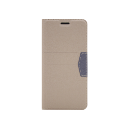 Samsung Galaxy J4+ (2018) - Preklopna torbica (47G) - bež