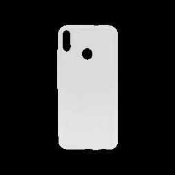 Huawei Honor 8X - Gumiran ovitek (TPU) - belo-prosojen svetleč