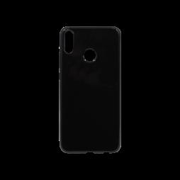Huawei Honor 8X - Gumiran ovitek (TPU) - črn svetleč