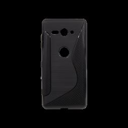 Sony Xperia XZ2 Compact - Gumiran ovitek (TPU) - črn CS-Type