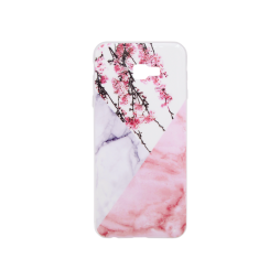 Samsung Galaxy J4+ - Gumiran ovitek (TPUP) - Marble 4