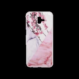 Samsung Galaxy J6+ - Gumiran ovitek (TPUP) - Marble 4