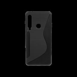 Samsung Galaxy A9 (2018) - Gumiran ovitek (TPU) - črn CS-Type
