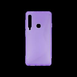 Samsung Galaxy A9 (2018) - Gumiran ovitek (TPU) - vijolično-prosojen CS-Type