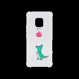 Huawei Mate 20 Pro - Gumiran ovitek (TPUP) - Dinosaur