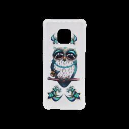 Huawei Mate 20 Pro - Gumiran ovitek (TPUP) - Sleepy owl