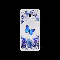 Samsung Galaxy J4+ (2018) - Gumiran ovitek (TPUP) - Blue butterfly