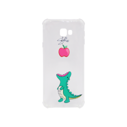 Samsung Galaxy J4+ (2018) - Gumiran ovitek (TPUP) - Dinosaur