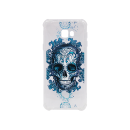 Samsung Galaxy J4+ (2018) - Gumiran ovitek (TPUP) - Skull