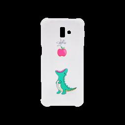 Samsung Galaxy J6+ (2018) - Gumiran ovitek (TPUP) - Dinosaur