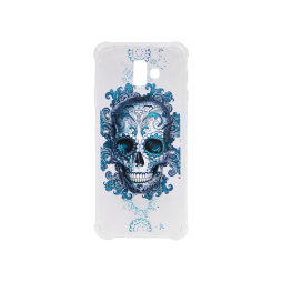 Samsung Galaxy J6+ (2018) - Gumiran ovitek (TPUP) - Skull