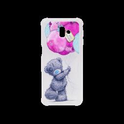 Samsung Galaxy J6+ (2018) - Gumiran ovitek (TPUP) - Bear
