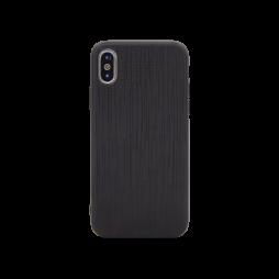 Apple iPhone X/XS - Okrasni pokrovček (70LS) - črn