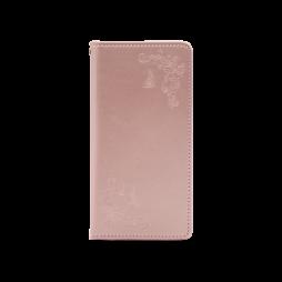 Huawei Mate 20 Pro - Preklopna torbica (WLGO-Butterfly) - roza-zlata