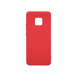 Huawei Mate 20 Pro - Gumiran ovitek (TPU) - rdeč MATT