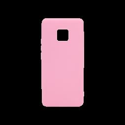 Huawei Mate 20 Pro - Gumiran ovitek (TPU) - svetlo roza MATT