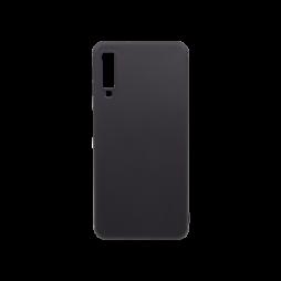 Samsung Galaxy A7 (2018) - Gumiran ovitek (TPU) - črn MATT