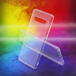 Samsung Galaxy S10+ - Gumiran ovitek (TPUA) - prosojen