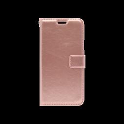 Samsung Galaxy A9 (2018) - Preklopna torbica (WLC) - roza-zlata
