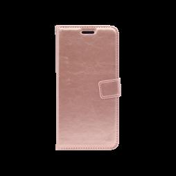 Huawei Honor 8X - Preklopna torbica (WLC) - roza-zlata