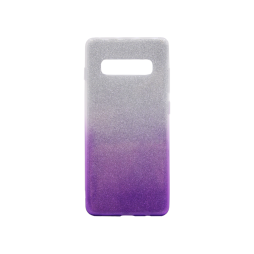Samsung Galaxy S10 - Gumiran ovitek (TPUB) - vijolična