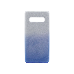 Samsung Galaxy S10+ - Gumiran ovitek (TPUB) - modra