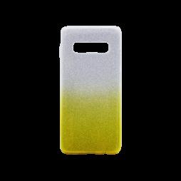 Samsung Galaxy S10+ - Gumiran ovitek (TPUB) - rumena