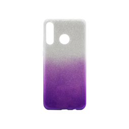 Huawei P30 Lite - Gumiran ovitek (TPUB) - vijolična